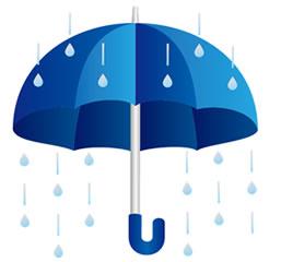 明日から雨