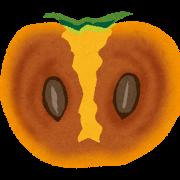 熟した柿のおいしい食べ方発見