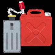 オイルや油の吸着材を使ってこぼれた灯油を処理